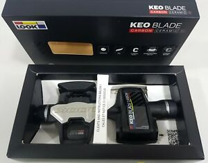 Look Keo Blade Carbon Ceramic Ti 12+16Nm Road Clipless Bicycle Pedals Black 189g