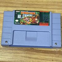 Donkey Kong Country (Super Nintendo SNES) AUTHENTIC . Tested