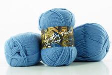 10 x 100g Graffiti Wool Pro Acryl Strickgarn 100% Polyacryl  himmelblau by Anune