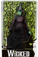 Wicked Elphaba Witch Barbie Doll 2018- New - Free Shipping!