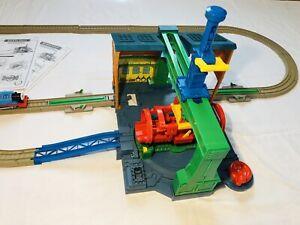 Thomas & Friends motorized Train Spin & Fix Sodor SteamworksTrackmaster Playset