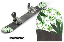 Snowboard Tip Decal Graphics sticker fits Burton,Capita,K2,GNU,LIB - WEED 420 WT