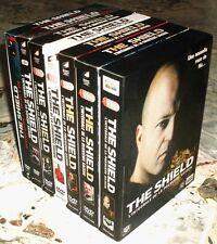 Intégrale de toutes les saisons 1-2-3-4-5-6-7 de THE SHIELD en 7 coffrets DVD