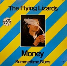 THE FLYING LIZARDS money/summertime blues MAXI 1979 VG+