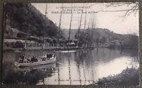 CPA. PONT D'OUILLY. 14 - Les Bords de l'Orne. 1914. La Normandie Pittoresque.