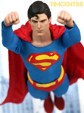 In Stock! Hot Toys 1/6 Superman 1978 Christopher Reeve Figure Normal Open New