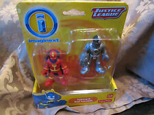 Imaginext DC Super Friends Fisher Justice League new Cyborg & Red Tornado robot