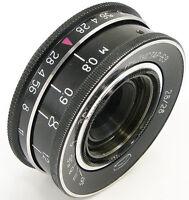 INDUSTAR-69 2.8/28 Russian Soviet USSR Wide Angle Pancake Lens M39 MMZ-LOMO #77
