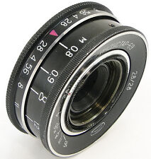 ⭐SERVICED⭐ INDUSTAR-69 28mm f/2.8 USSR Wide Angle Pancake Lens M39 MMZ-LOMO #21