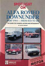 ALFA ROMEO DOWNUNDER BOOK 164 GTV6 MILANO Alfetta GTV 75 90 33