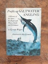 Profiles in Saltwater Angling Book By George Reiger,Fishing Saltwater Fisherman