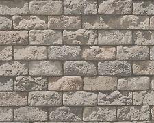 Papel Pintado Mural Dekora NATURAL 6AS 95834-2 piedra arena MURO Marrón Beige