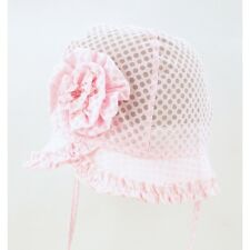 Toddler Girls Summer Hat Bonnet Holiday Beach Cap Occasion Size 6 Mths-6 Years Number 11 9 - 12 Mths