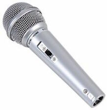 Stella Lab Silver Microphone Switched Handheld Vocal Mic inc Lead