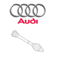 For Audi Q5 Premium Plus 2.0 L4 Front Left or Right Axle Shaft Assembly Genuine