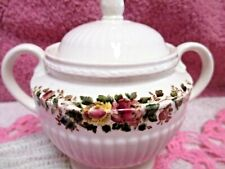 Wedgwood EDME Conway Sugar Bowl with Lid England Old Piece