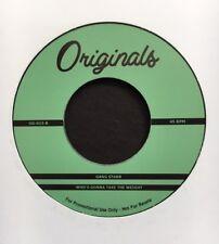 """GANG STARR / MACEO & THE MACKS Hip-Hop 45 + OG sample! 7"""" (JAMES BROWN, FUNK)"""