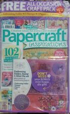 Papercraft Inspirations UK Aug 2017 Embossing Folder Stamps Die FREE SHIPPING sb
