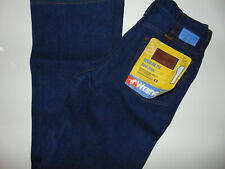 Vintage Men's Wrangler Regular Fit Boot Cut Blue Denim Jeans No Fault 29X34
