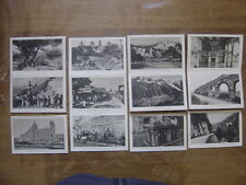 Lot 12 cartes postales Postcards de 1923 PLM Marseille Corse Algerie Maroc Ain