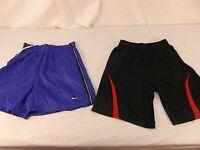 Children Youth Boys Vintage Nike Blue Shorts & Fila Sport Black Red Shorts 31033
