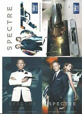 JAMES BOND  007 DANIEL CRAIG SPECTRE 4 different POSTCARDS 3 sets 12 cards FILM
