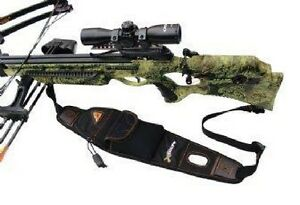 GamePlan Gear XBOLT Crossbow Sling Neoprene Black LEFT/RIGHT Model# XBSL-BLK NEW