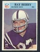 1966 Philadelphia #15 Raymond Berry NM/NM+ Colts 66513