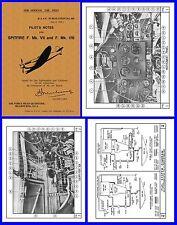 Spitfire Mk. VIII  RAAF Pilots Manual on CD