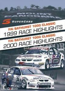 V8 Supercars - 1999 + 2000 Bathurst 1000 Highlights DVD - Brand new Holden Ford