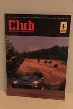 Rivista Ufficiale Ferrari Club d'Italia anno 1996