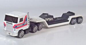 "Vintage 1980 Buddy L NASA Mack Semi Truck Shuttle Carrier 10.5"" Scale Model"