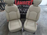 2008-2012 Infiniti EX35 Front Passenger Driver Seat Left Right OEM....  Tan ....