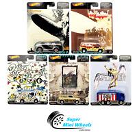Hot Wheels Premium 2019 Pop Culture LED - Zeppelin E Case Set of 5 Cars
