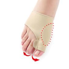 2x Big Toe Bunion Splint Straightener Foot Pain Relief Hallux Valgus Corrector