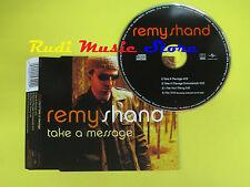CD Singolo REMY SHAND Take a message 2001 eu MOTOWN no lp mc dvd vhs (S14)