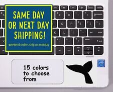 8 Sizes Whale Tail Car Window Decal Sticker Macbook Laptop Tablet Wall Gift