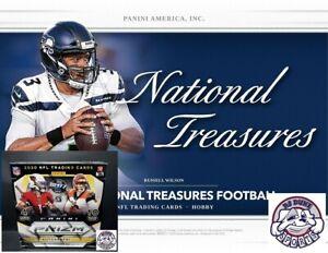 Minnesota Vikings 2020 Football Mixer Break National Treasures + Prizm