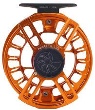 Nautilus X Series XL Reel (6/7 WT) Custom Orange Color - Free US Shipping