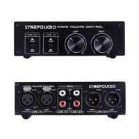 Balanced Passive Preamplifier / Volume Controller XLR/RCA HiFi Pre-amp Amplifier