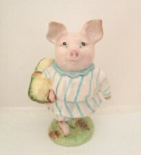 BESWICK BEATRIX POTTER FIGURE - LITTLE PIG ROBINSON BP2a GOLD OVAL - EXCELLENT !