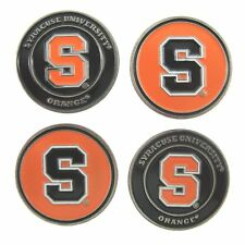 Syracuse Orange Golf Ball Markers (Set of 4) Double Sided