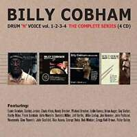 Billy Cobham - Drum 'n' Voice, Vols. 1 To 4 (the Complete Series) NEW 4 x CD