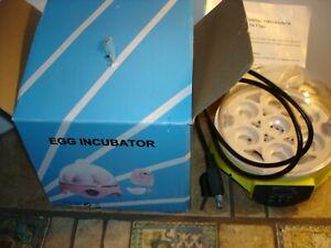 110V Digital 7 Egg Incubator Chicken Hatcher Temperature Control with Light