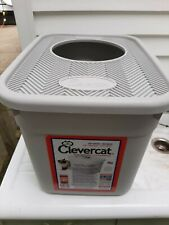 New listing Clevercat Top Entry Litter box Cleaned Nice!