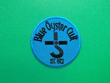 HEAVY METAL PUNK ROCK MUSIC SEW ON / IRON ON PATCH:- BLUE OYSTER CULT THE REAPER