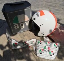Casco Agv jet X70 Marlboro cross helmet no Nava Bell Shoei Agv Arai Nolan vespa