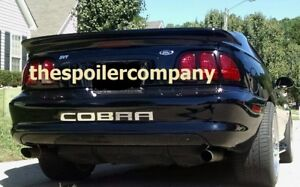 """FOR FORD MUSTANG COUPE UN-PAINTED-PRIMER """"Saleen-Style"""" Rear Spoiler 1994-1998"""