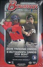 2015 Bowman Factory Sealed Baseball Jumbo Box  Andrew Benintendi AUTO ???