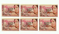6 (Pack) BEAUCHE GLUTA SOAP SUPER WHITENING USA SELLER 90g